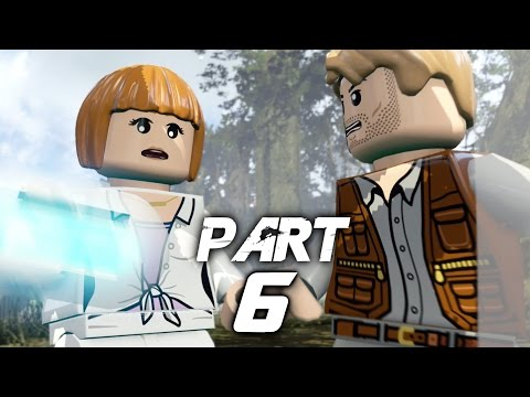 LEGO Jurassic World Video Game Walkthrough Gameplay Part 6 - Out of Bounds (PS4) streaming vf
