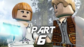 LEGO Jurassic World Video Game Walkthrough Gameplay Part 6 - Out of Bounds (PS4)