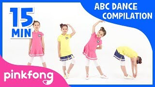Let's Dance ABC! | ABC Song | +Compilation | Pinkfong Songs for Children