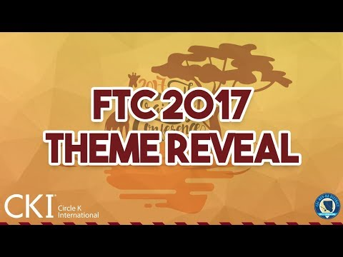 CNH Circle K Fall Training Conference 2017 Theme Reveal