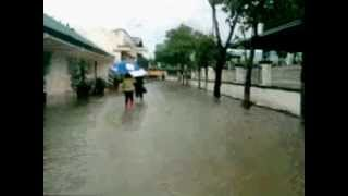 FLOOD IN STA. RITA , PAMPANGA