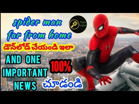 Download How to download Spider Man far from home full movie in telugu HD print