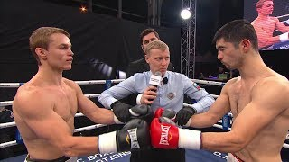 Равшанбек Умурзаков vs Евгений Смелов / Ravshanbek Umurzakov vs Evgeny Smelov
