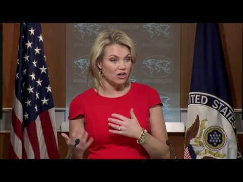 FULL: Heather Nauert Department Press Briefing on President Donald Trump News - August 24, 2017