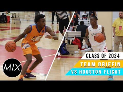 Houston Flight 2024 vs Team Griffin 2024 | John Lucas All-Star Weekend