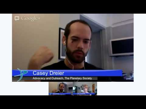 Planetary Society Hangout Dec 6 2012: Curiosity update and the 2020 rover