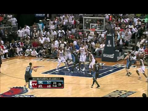 JJ Redick Dunk (Orlando Magic At Atlanta Hawks)