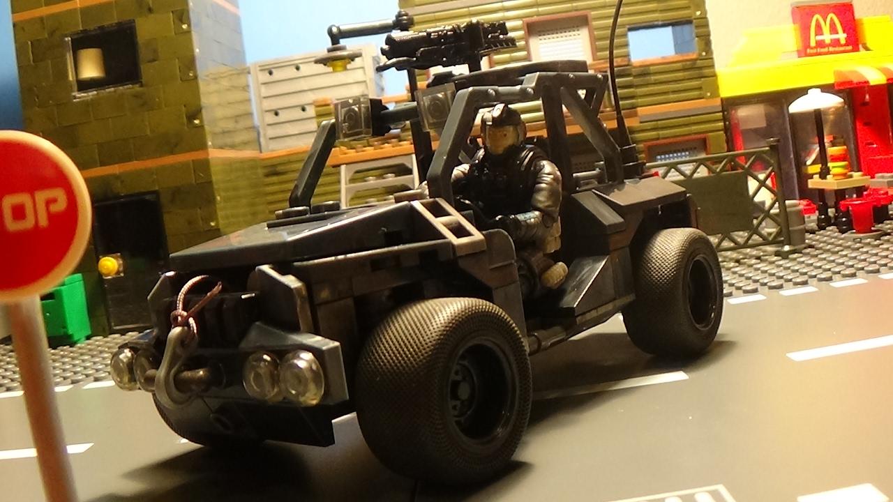 Mega Construx Call of Duty ATV Ground Recon Building Set Mattel DXB63