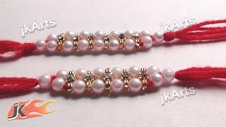 DIY Beads Rakhi for Raksha Bandhan - JK Arts 363