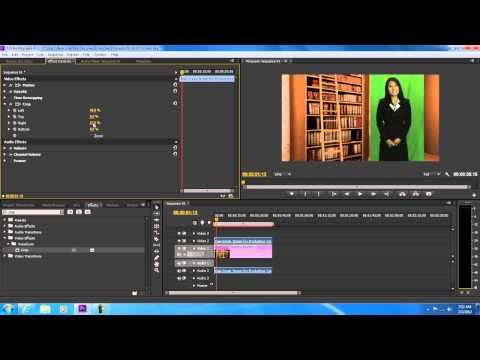 How To Use The Chroma Key Effect In Adobe Premiere