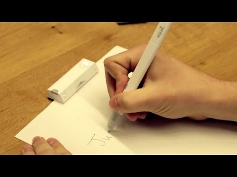 Equil's New Smartpen Puts Writing In The Cloud
