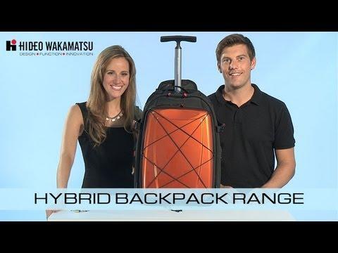 Hideo Wakamatsu Hybrid Backpack Trolley Range Youtube