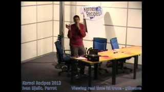 Ivan Djelic, Parrot - Viewing real time ltt trace: gtkwave