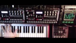 Yosemati Morai - Live Jam on Two Elektron Analog Four