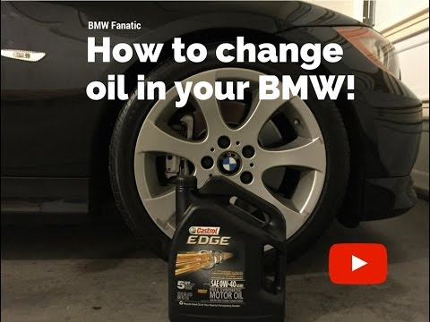 How To Change Oil In Your BMW N54 135i 335i 535i!