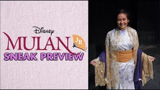 A Sneak Peek Of MULAN JR!