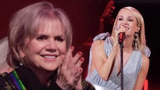Carrie Underwood honors Linda Ronstadt at Kennedy Honors