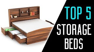 Best Storage Beds 2018 - Best platform bed with storage Reviews & Buying Guide