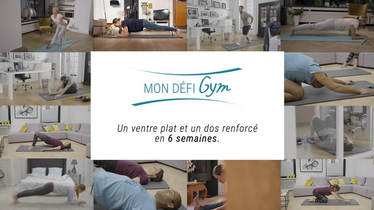 official photos best authentic entire collection Mon Défi Gym Decathlon - Un ventre plat et un dos renforcé
