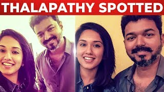 SPOTTED: Thalapathy Vijay Meets his Fan | Thalapathy 63