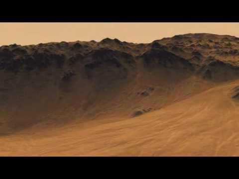 Soaring Over Mars