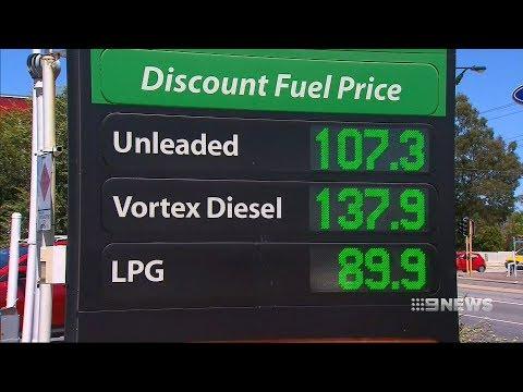 Petrol Plunge | 9 News Perth