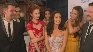 NTAs: Coronation Street cast, including Michelle Keegan, discuss Hayley Cropper death