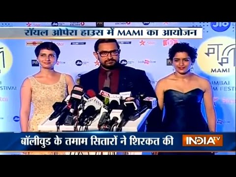 Amitabh Bachchan, Aamir Khan Grace The Opening Night Of MAMI Film Festival