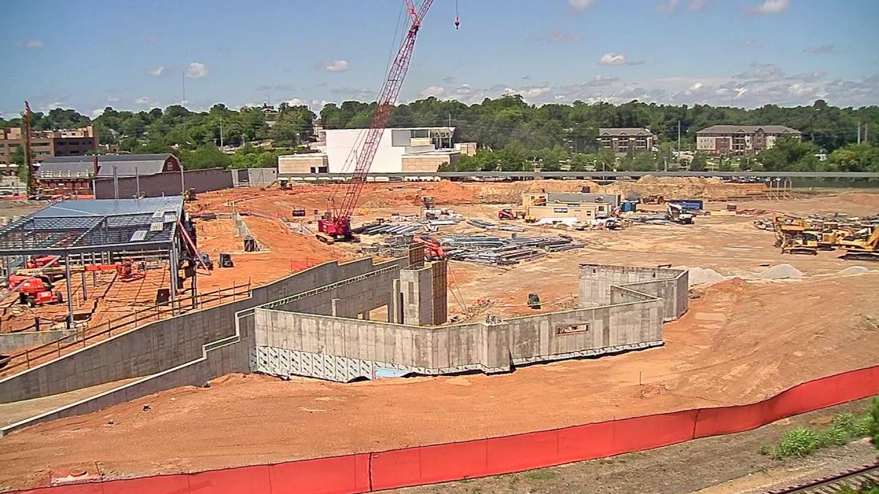 Segra Stadium construction timelapse   Stadia Magazine