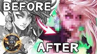 Artstyle Transformation ✨ Art Collab with Dave Greco
