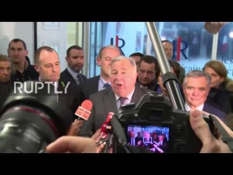 France: Fillon will run for president with 'unanimous' party support – Senate leader