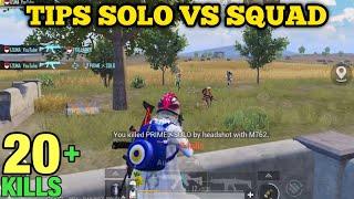 Tips Solo Vs Squad Pubg Mobile Indonesia