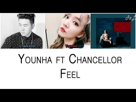 Younha 윤하 - Feel ft Chancellor (Color Coded Lyrics ENGLISH/ROM/HAN)