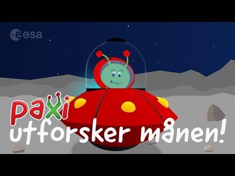 Paxi utforsker månen