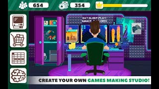 Game Maker Tycoon Dev Studio Gameplay Video Android/iOS