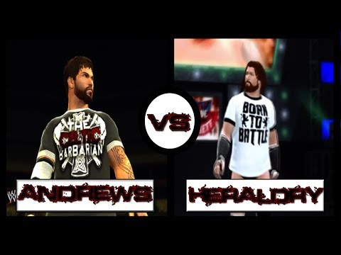 WWE 2K14 - Chris Andrews vs Markus Heraldry