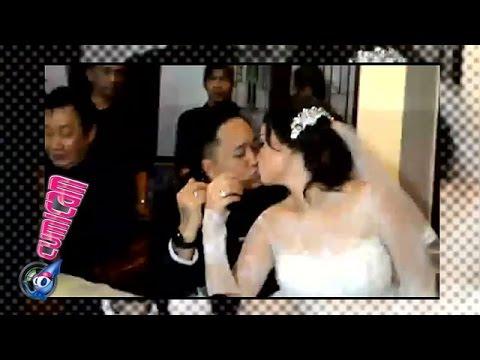 Ciuman Hot Feby-Franky, Ekspresi Bahagia Usai Menikah - Cumicam 25 Januari 2016
