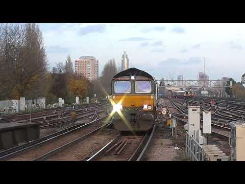 Trains at Clapham Junction - Britain's Busiest Railway Station 2018