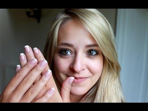 DIY French Manicure Tutorial | Fleur De Force
