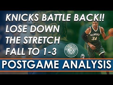 Knicks Battle Back, Lose Down the Stretch | Postgame Analysis New York Knicks vs Milwaukee Bucks