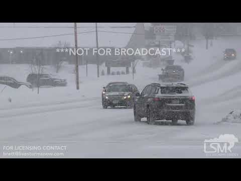 01-26-19 Cedar Rapids, IA - Whiteout Driving Conditions