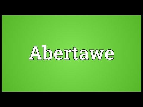 Abertawe Meaning
