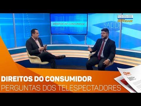 Direitos do Consumidor: Perguntas dos telespectadores - TV SOROCABA/SBT