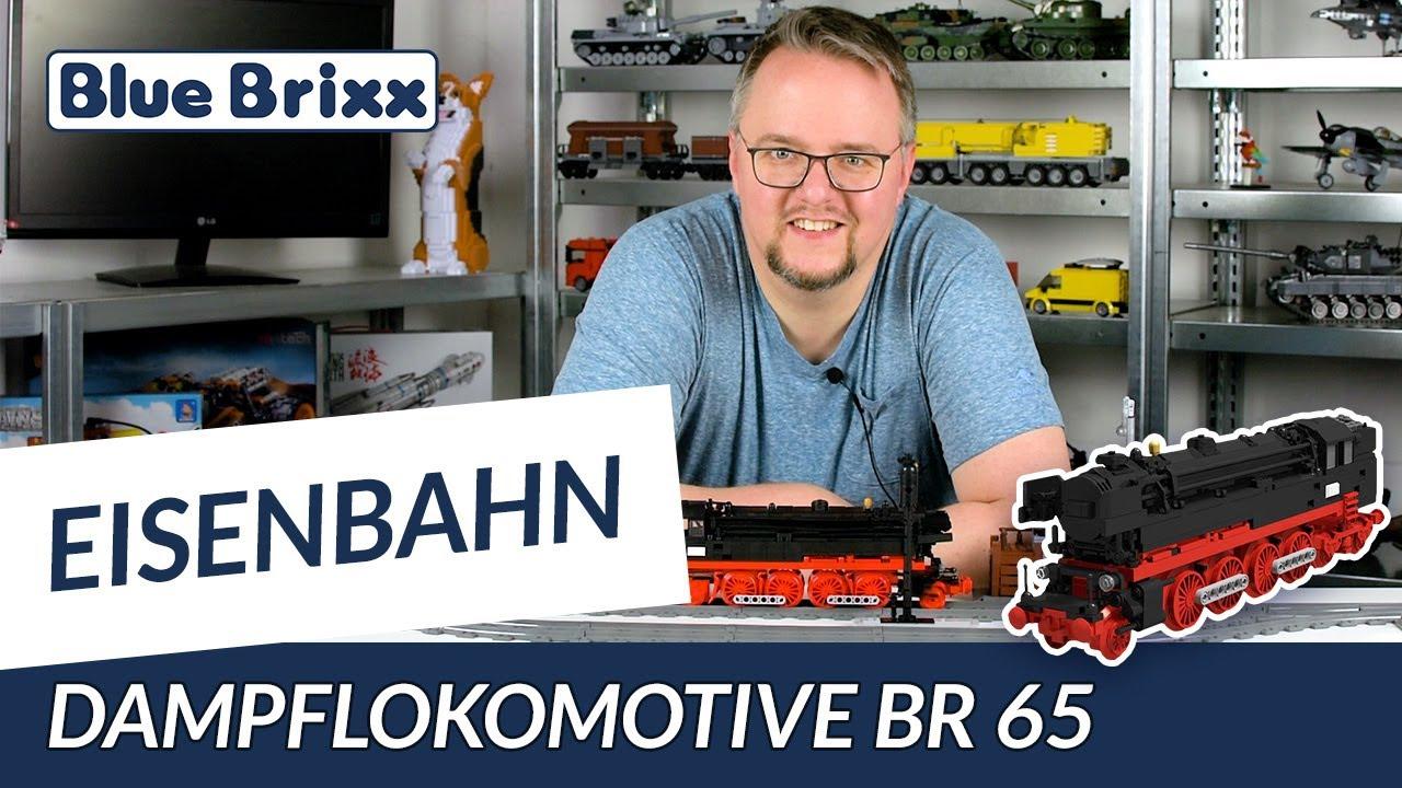 Dampflokomotive BR 65 von BlueBrixx