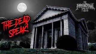 REAL Paranormal Activity Captured in Haunted Masoleum in Nebraska | THE PARANORMAL FILES