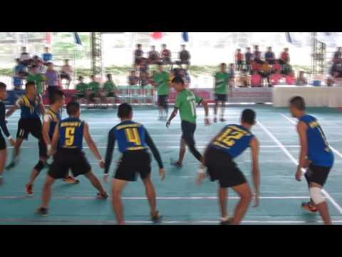 ไฮไลท์การแข่งขันกีฬา กาบัดดี้ 18-03-2558