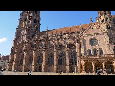 4K Freiburg im Breisgau Baden Württemberg GERMANY ドイツ