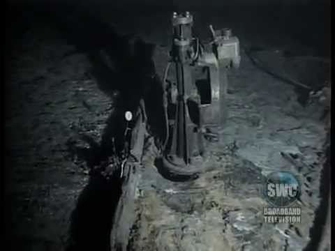Video and technical description of the titanic 39 s wreck on for Ocean floor description