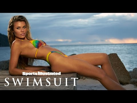 Samantha Hoopes Gets Colorful In Sexy Tie-Dye Body Painting | Sports Illustrated Swimsuit