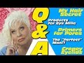 """Q&A: The """"Perfect"""" Man? / Crepey Eyelids / Hair Secrets & more! / 40+ Beauty / 50++"""